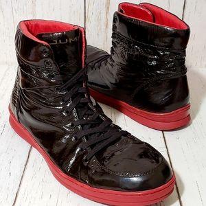 Jump Vanquish LTD Patent Leather Sneakers Mens 13